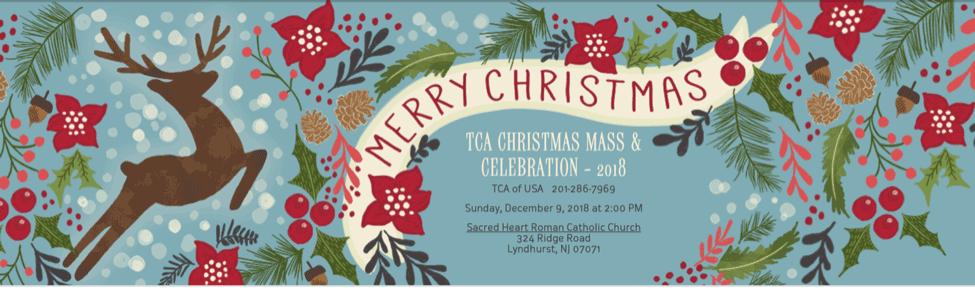 TCA Christmas Mass and Celebration